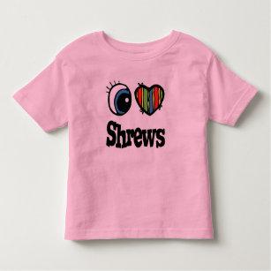 f991f77a2f5 I Love Heart Shrews T-Shirt Men s Clothing Clothing