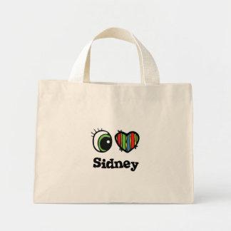I Love (Heart) Sidney Mini Tote Bag