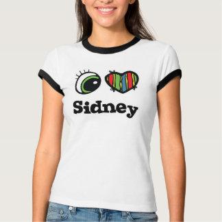 I Love (Heart) Sidney T Shirts