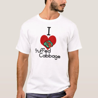 I love-heart Stuffed Cabbage T-Shirt
