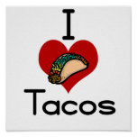 I love (heart) tacos