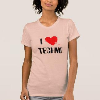 I Love (Heart) Techno T-Shirt