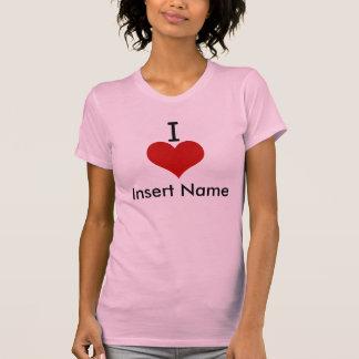I Love (heart) Tee Shirts
