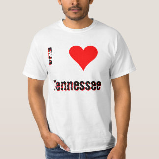 I Love(Heart) Tennessee T-Shirt