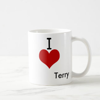 I Love (heart) Terry Coffee Mug