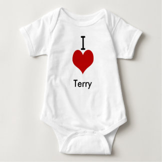 I Love (heart) Terry Shirts