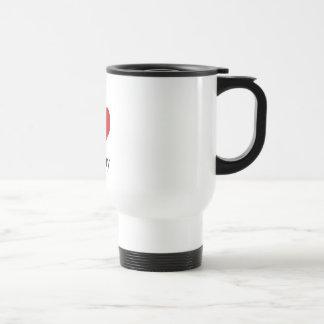 I Love (heart) Terry Stainless Steel Travel Mug