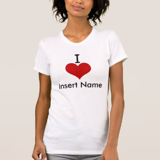I Love (heart) Tshirts