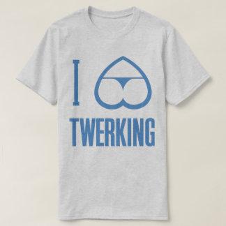I Love Heart Twerking Bum Booty Butt Funny T-Shirt
