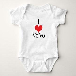 I Love (Heart) VoVo Tee Shirt