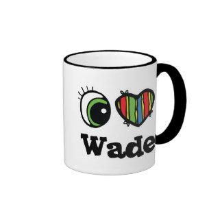 I Love (Heart) Wade Ringer Mug