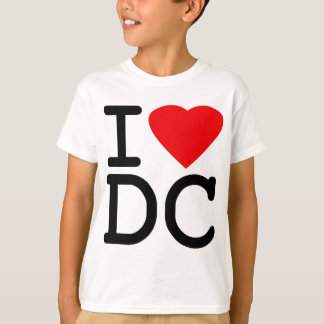 I Love Heart Washington D.C. District of Columbia T-Shirt