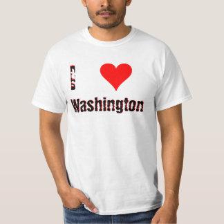 I Love (Heart) Washington T Shirts