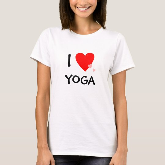 I Love (Heart) Yoga T-Shirt