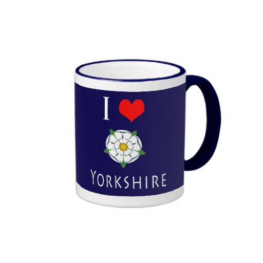 I Love (heart) Yorkshire mug