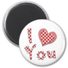 I Love(Heart) You Magnet