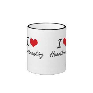 I love Heartbreaking Ringer Mug