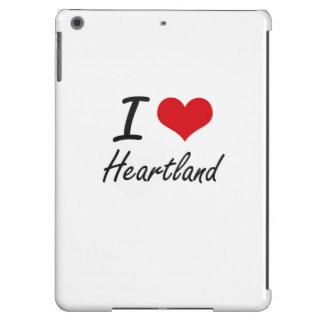 I love Heartland Case For iPad Air