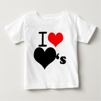 I love hearts baby T-Shirt