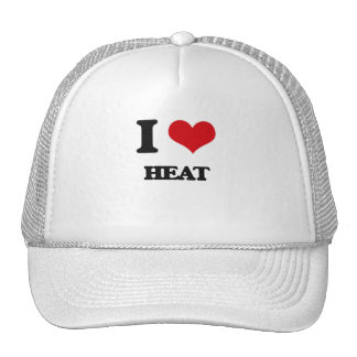 I love Heat Trucker Hat