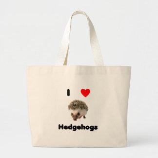 I love hedgehogs Bag