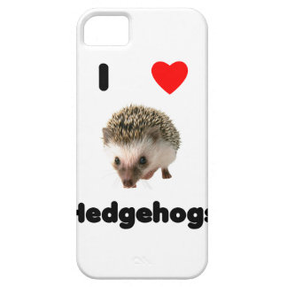 I love hedgehogs iPhone 5 case