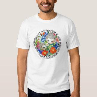I Love Hedgehogs (Spring Version) T Shirt