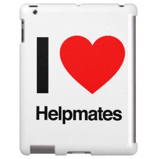 i love helpmates iPad case