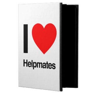 i love helpmates iPad air case