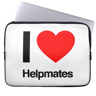i love helpmates laptop sleeve