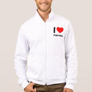 i love helpmates printed jackets