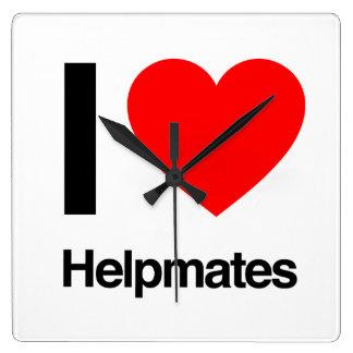 i love helpmates wallclocks