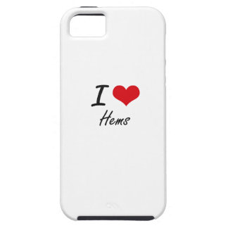 I love Hems iPhone 5 Covers