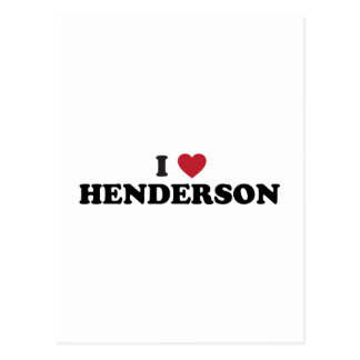 I Love Henderson Nevada Postcard