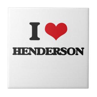 I love Henderson Small Square Tile