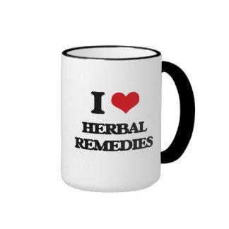 I love Herbal Remedies Mug
