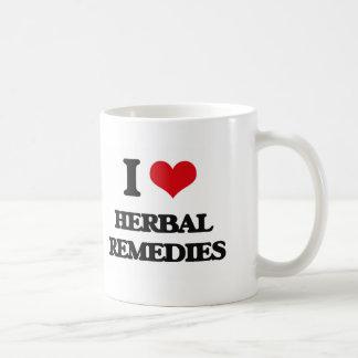 I love Herbal Remedies Coffee Mug