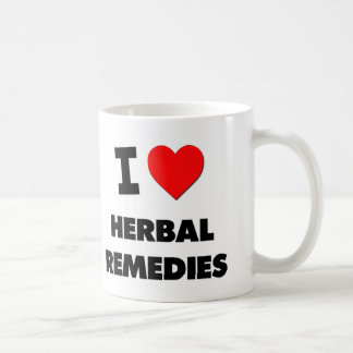 I Love Herbal Remedies Mugs