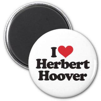 I Love Herbert Hoover Magnets