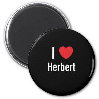 I love Herbert Refrigerator Magnets
