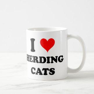 I Love Herding Cats Classic White Coffee Mug