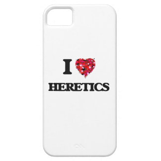 I Love Heretics Barely There iPhone 5 Case
