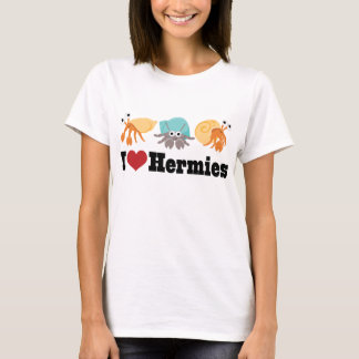 I Love Hermit Crabs T-Shirt