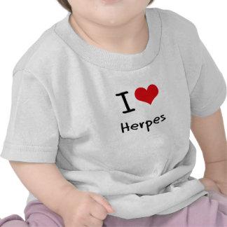 I Love Herpes T Shirt