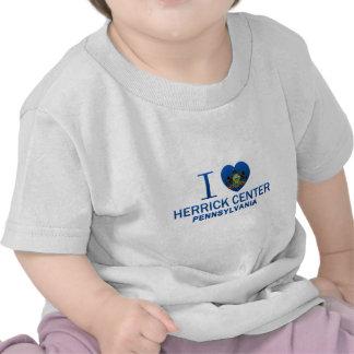 I Love Herrick Center, PA Shirts