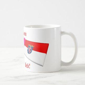 I Love Hessen ist mir lieb Coffee Mug