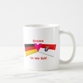 I Love Hessen ist mir lieb Mugs