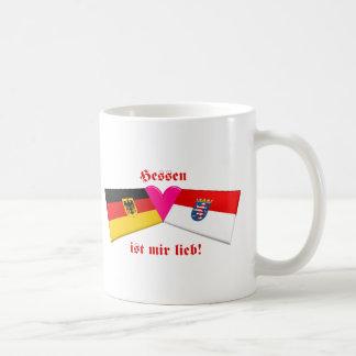 I Love Hessen ist mir lieb Coffee Mugs