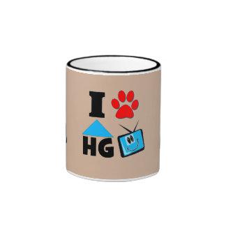 I Love HG TV Ringer Mug