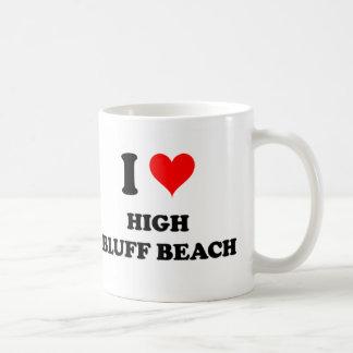 I Love High Bluff Beach California Mug
